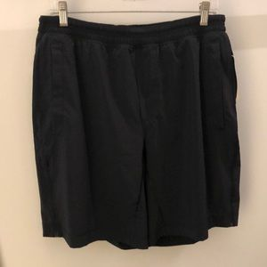 Lululemon men's black shorts, sz xl, 64880